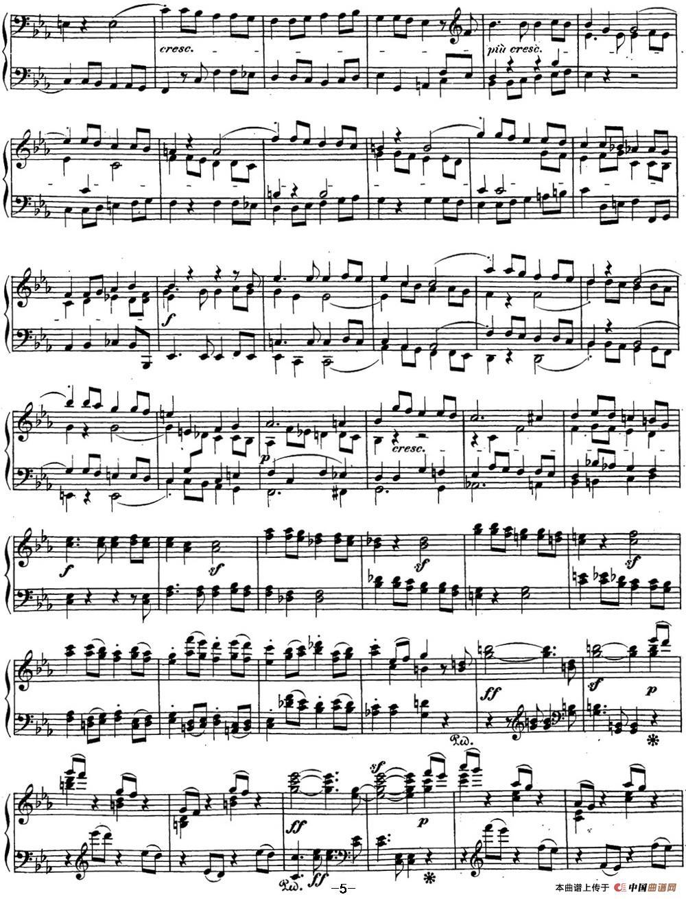 贝多芬钢琴奏鸣曲29 钢琴(锥子键琴)降B大调 Op.106 B-flat major(1)_原文件名:29 钢琴(锥子键琴)降B大调 Op106 B-flat major_页面_07.jpg