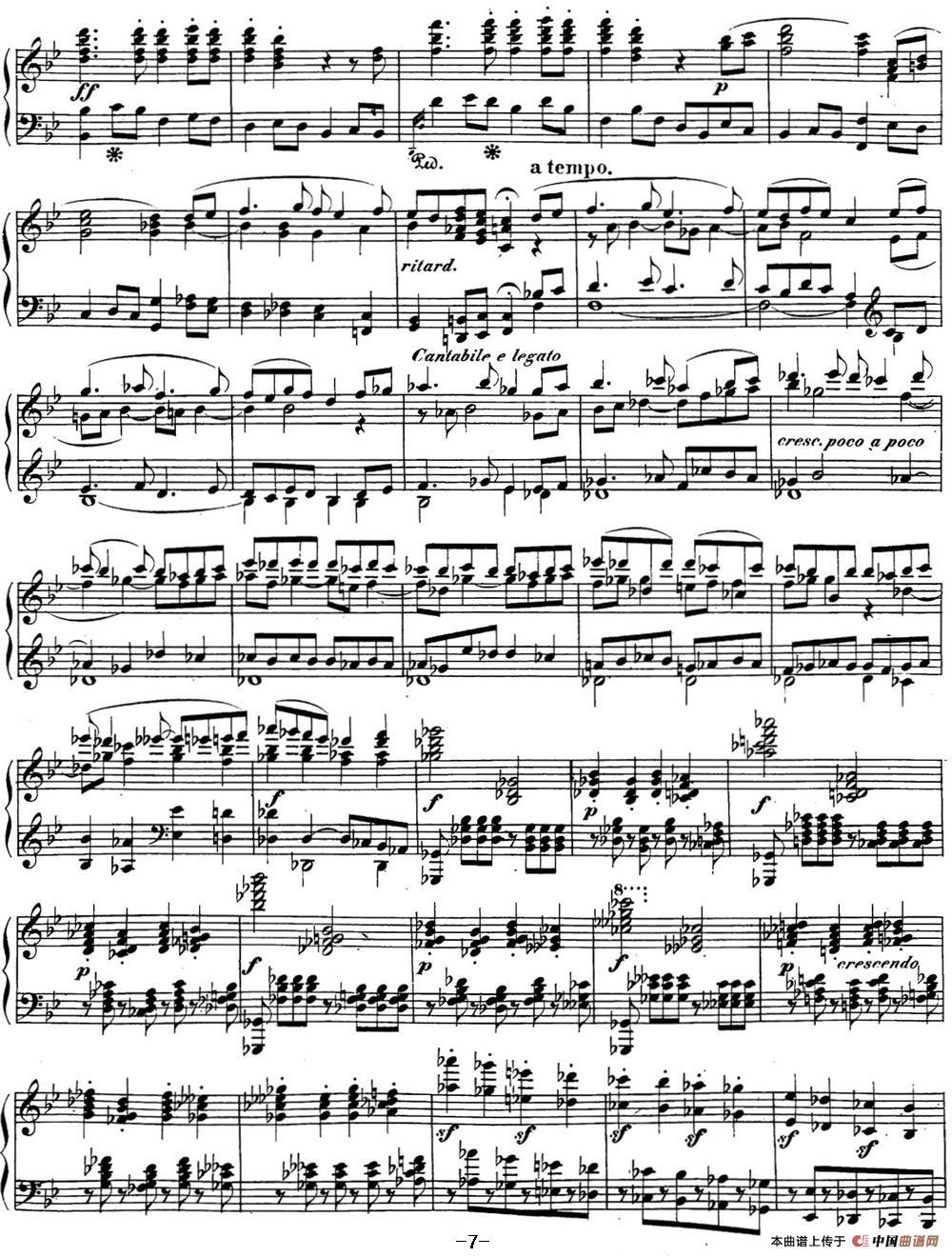 贝多芬钢琴奏鸣曲29 钢琴(锥子键琴)降B大调 Op.106 B-flat major(1)_原文件名:29 钢琴(锥子键琴)降B大调 Op106 B-flat major_页面_09.jpg
