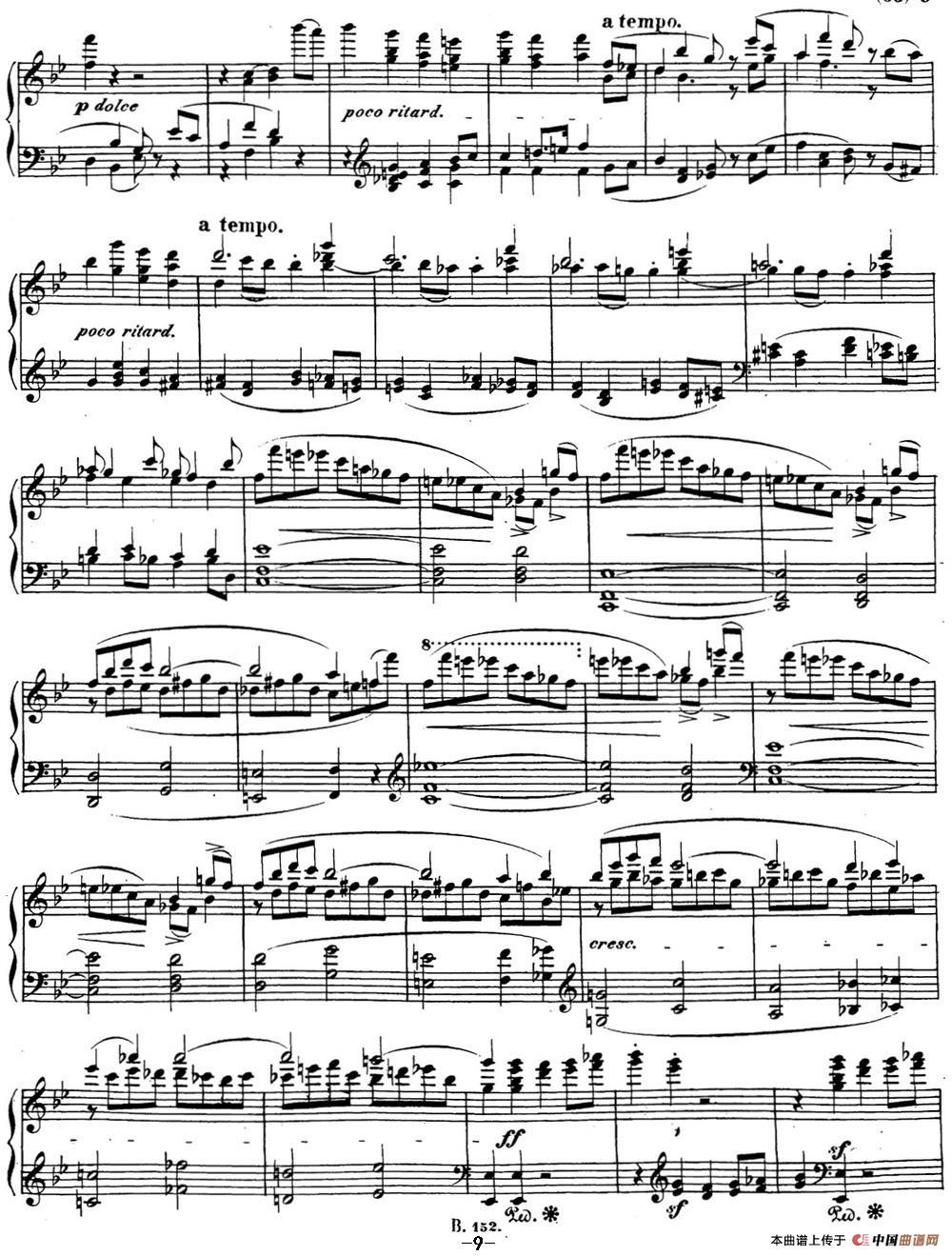 贝多芬钢琴奏鸣曲29 钢琴(锥子键琴)降B大调 Op.106 B-flat major(1)_原文件名:29 钢琴(锥子键琴)降B大调 Op106 B-flat major_页面_11.jpg