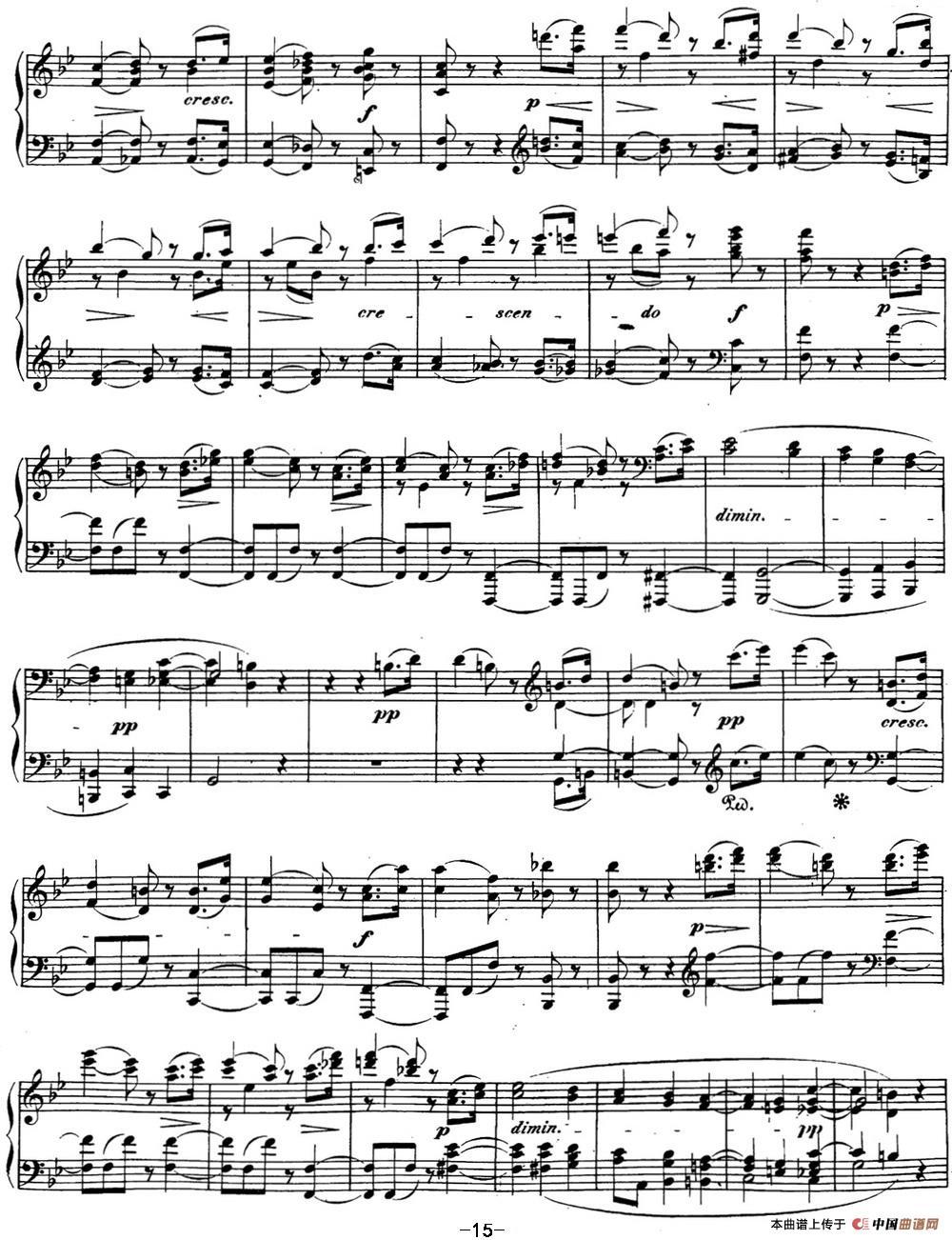 贝多芬钢琴奏鸣曲29 钢琴(锥子键琴)降B大调 Op.106 B-flat major(1)_原文件名:29 钢琴(锥子键琴)降B大调 Op106 B-flat major_页面_17.jpg