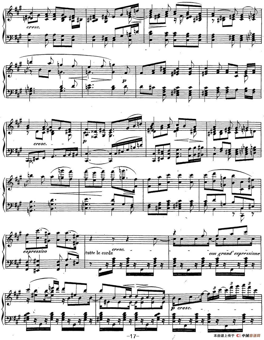 贝多芬钢琴奏鸣曲29 钢琴(锥子键琴)降B大调 Op.106 B-flat major(1)_原文件名:29 钢琴(锥子键琴)降B大调 Op106 B-flat major_页面_19.jpg