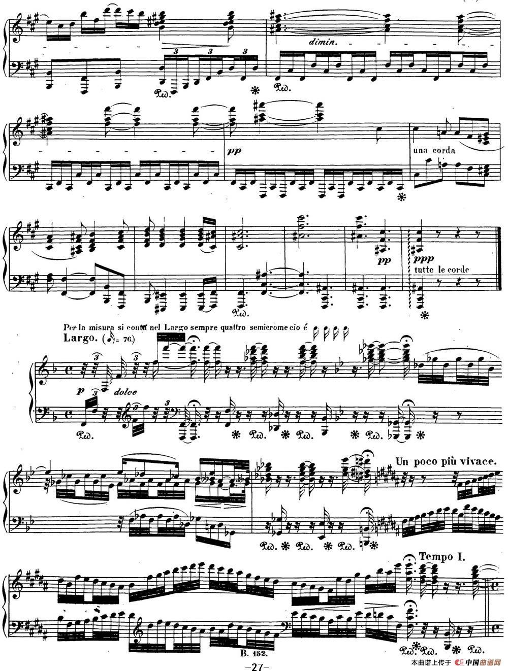 贝多芬钢琴奏鸣曲29 钢琴(锥子键琴)降B大调 Op.106 B-flat major(1)_原文件名:29 钢琴(锥子键琴)降B大调 Op106 B-flat major_页面_29.jpg
