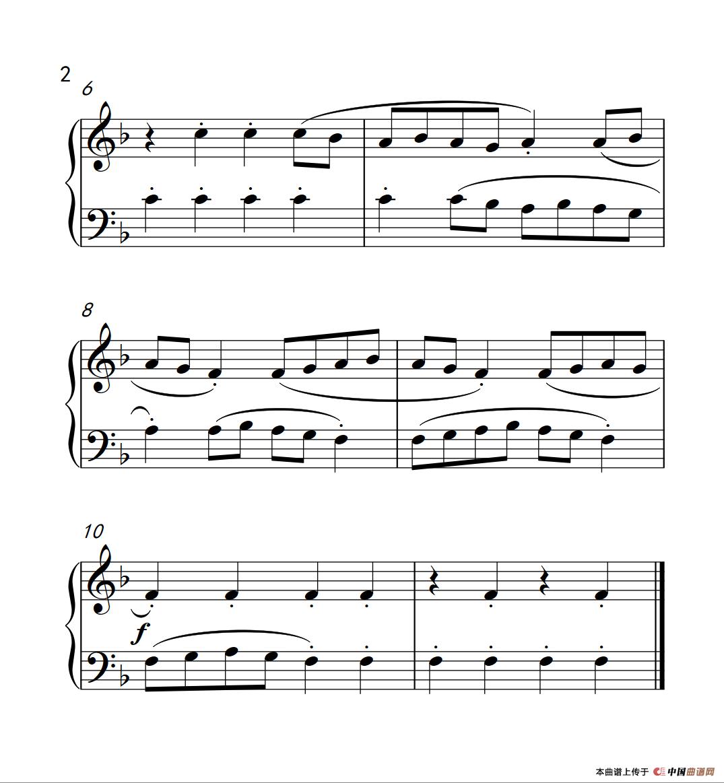 器乐乐谱 钢琴乐谱