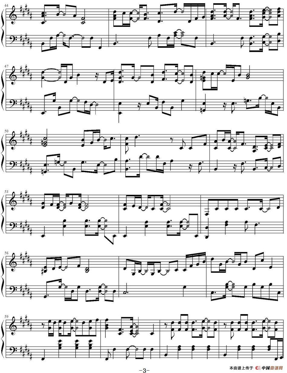 克拉恋人钢琴谱(电视剧《克拉恋人》片头曲)_器乐乐谱图片