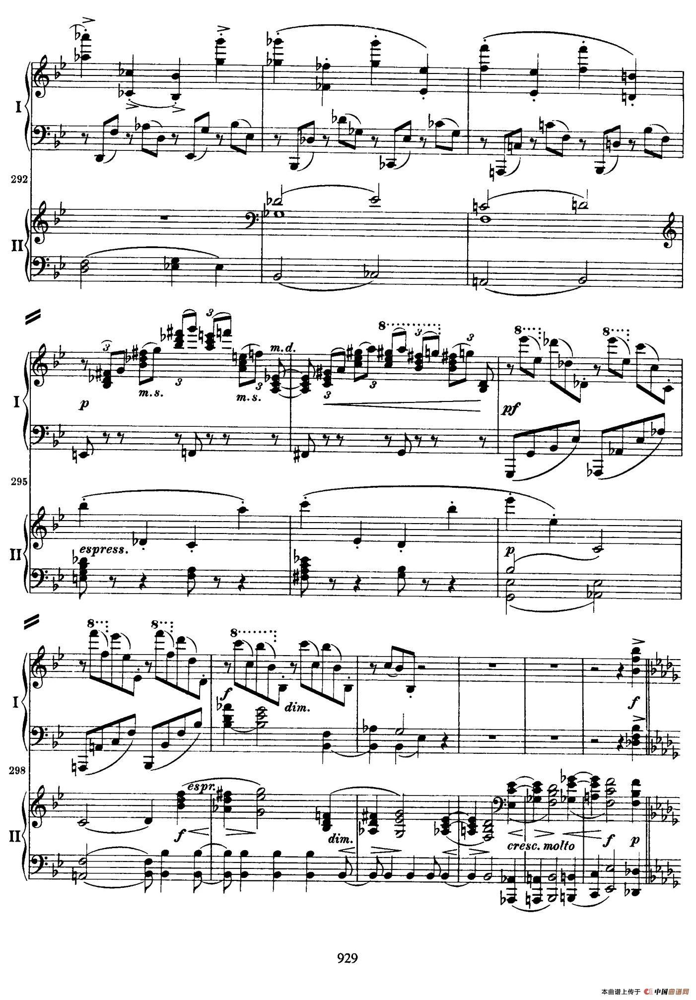 降B大调第二钢琴协奏曲 (P31――40)(1)_原文件名:031.jpg