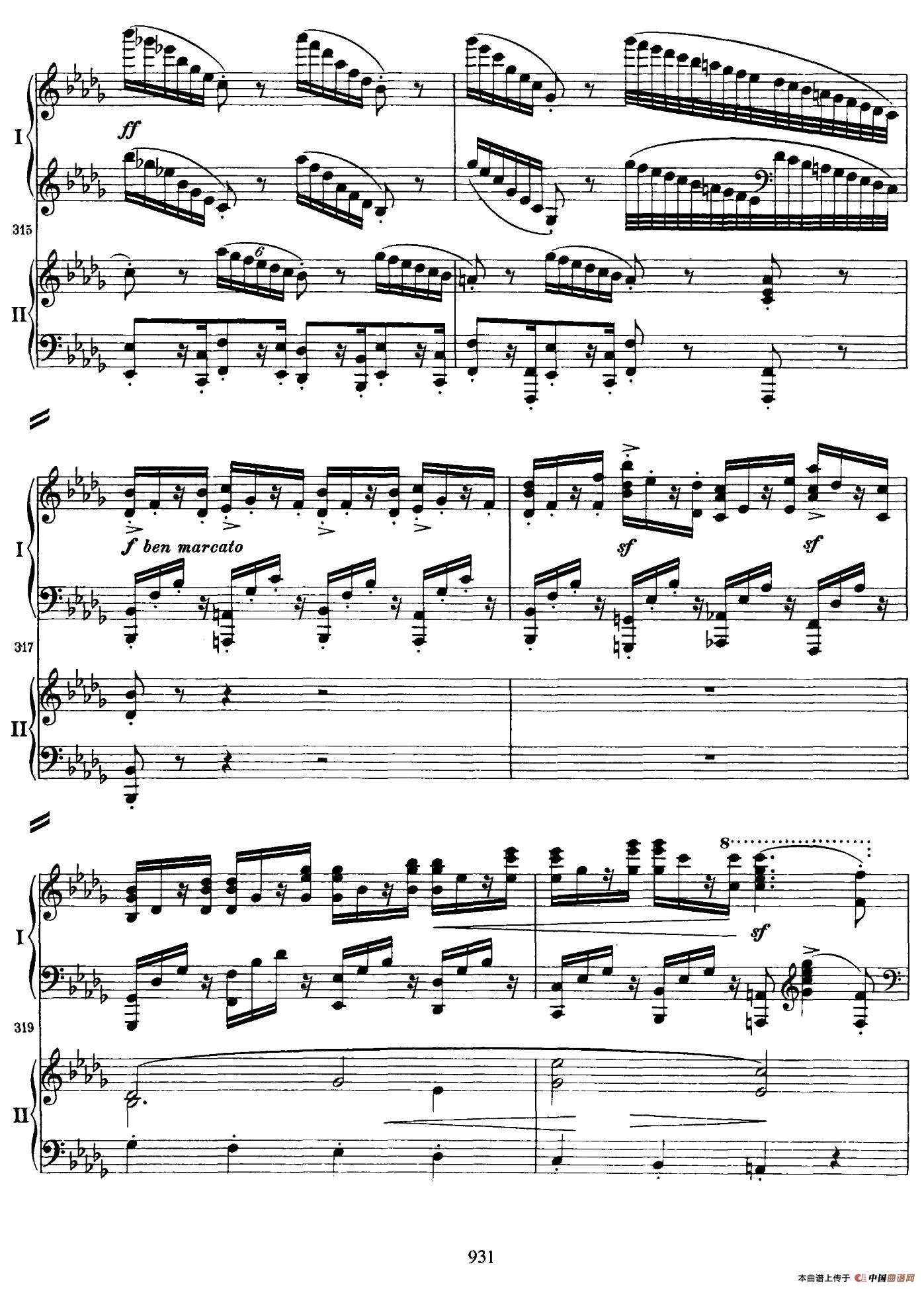 降B大调第二钢琴协奏曲 (P31――40)(1)_原文件名:033.jpg