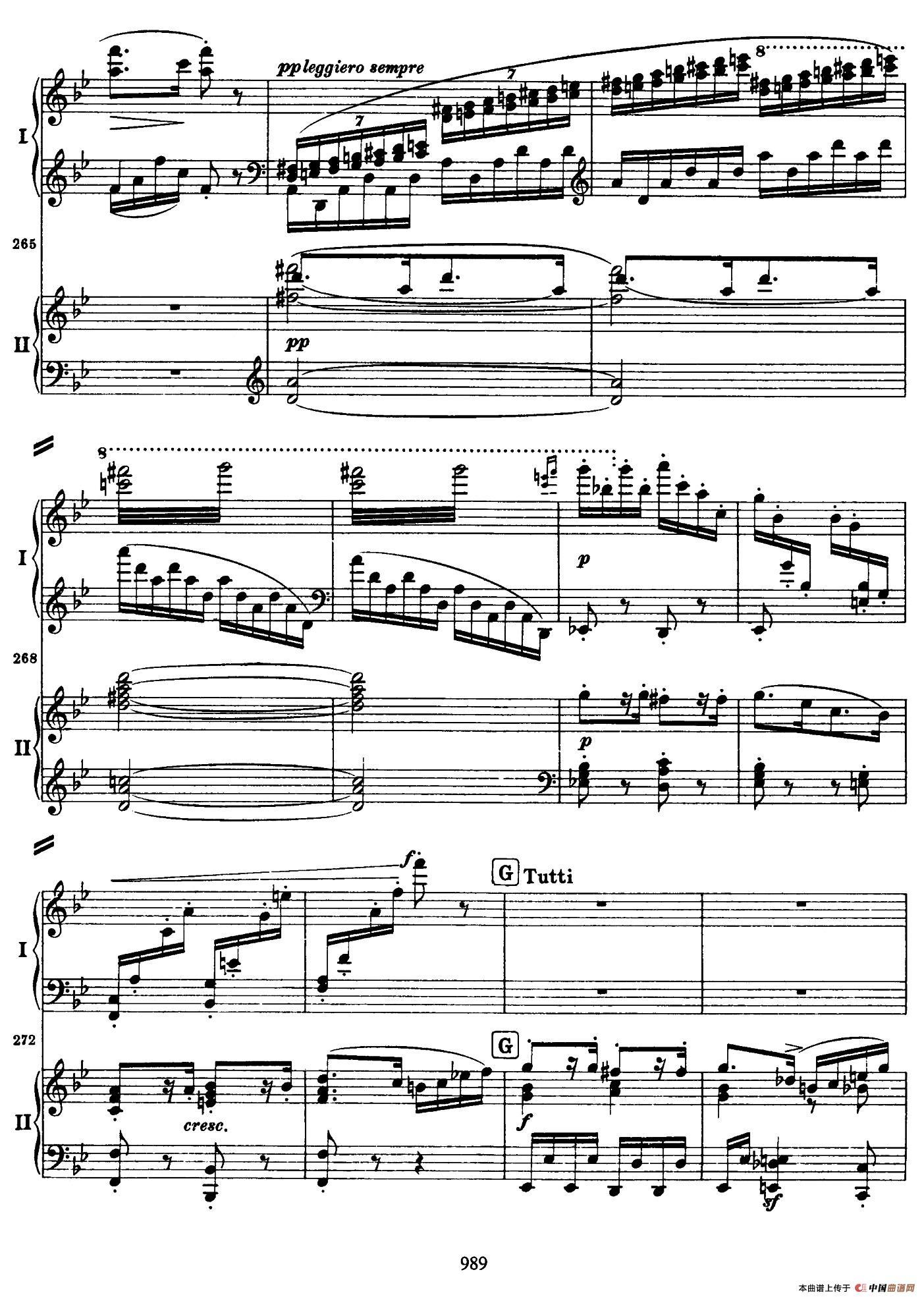 降B大调第二钢琴协奏曲(P91――104)(1)_原文件名:091.jpg