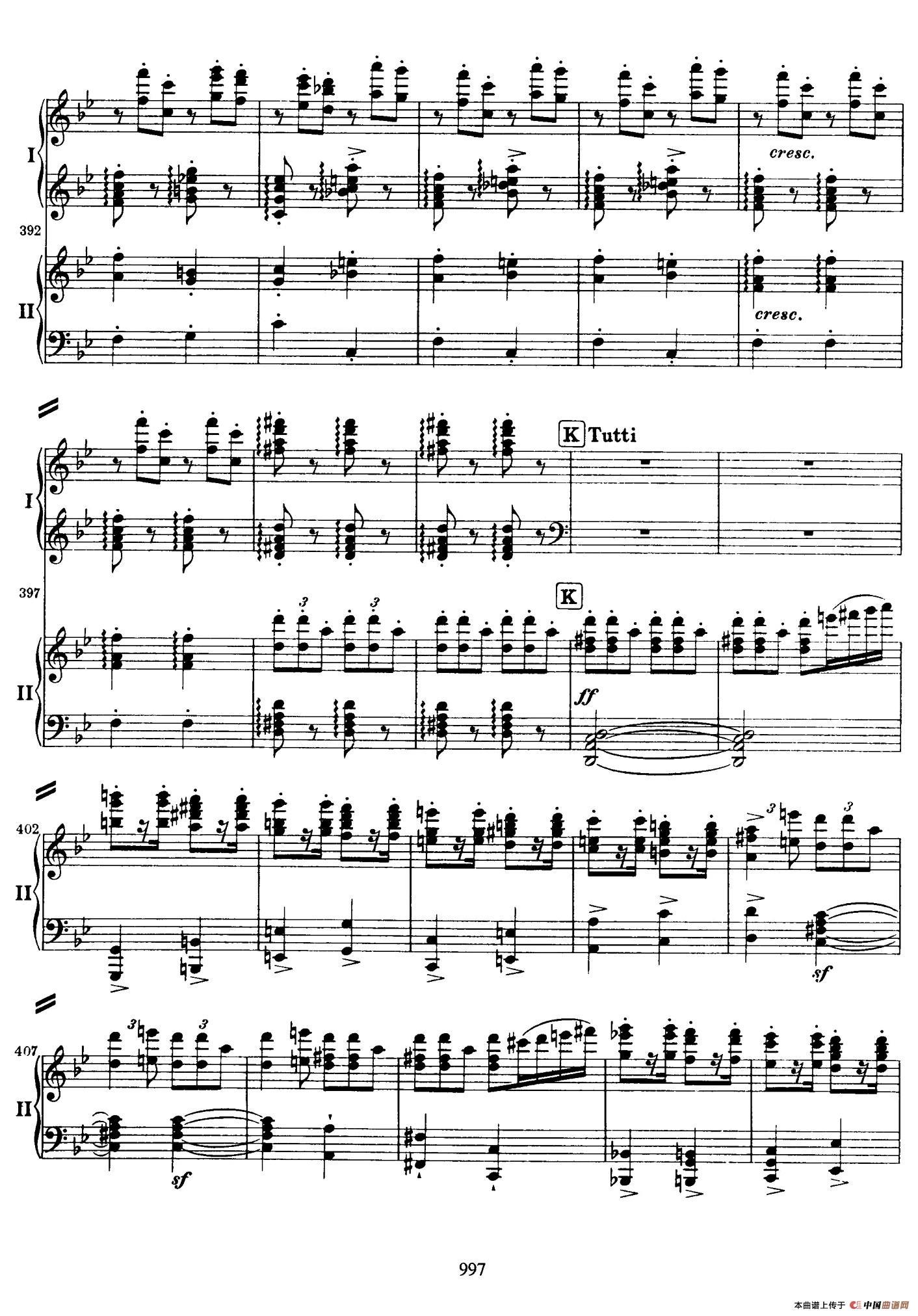 降B大调第二钢琴协奏曲(P91――104)(1)_原文件名:099.jpg