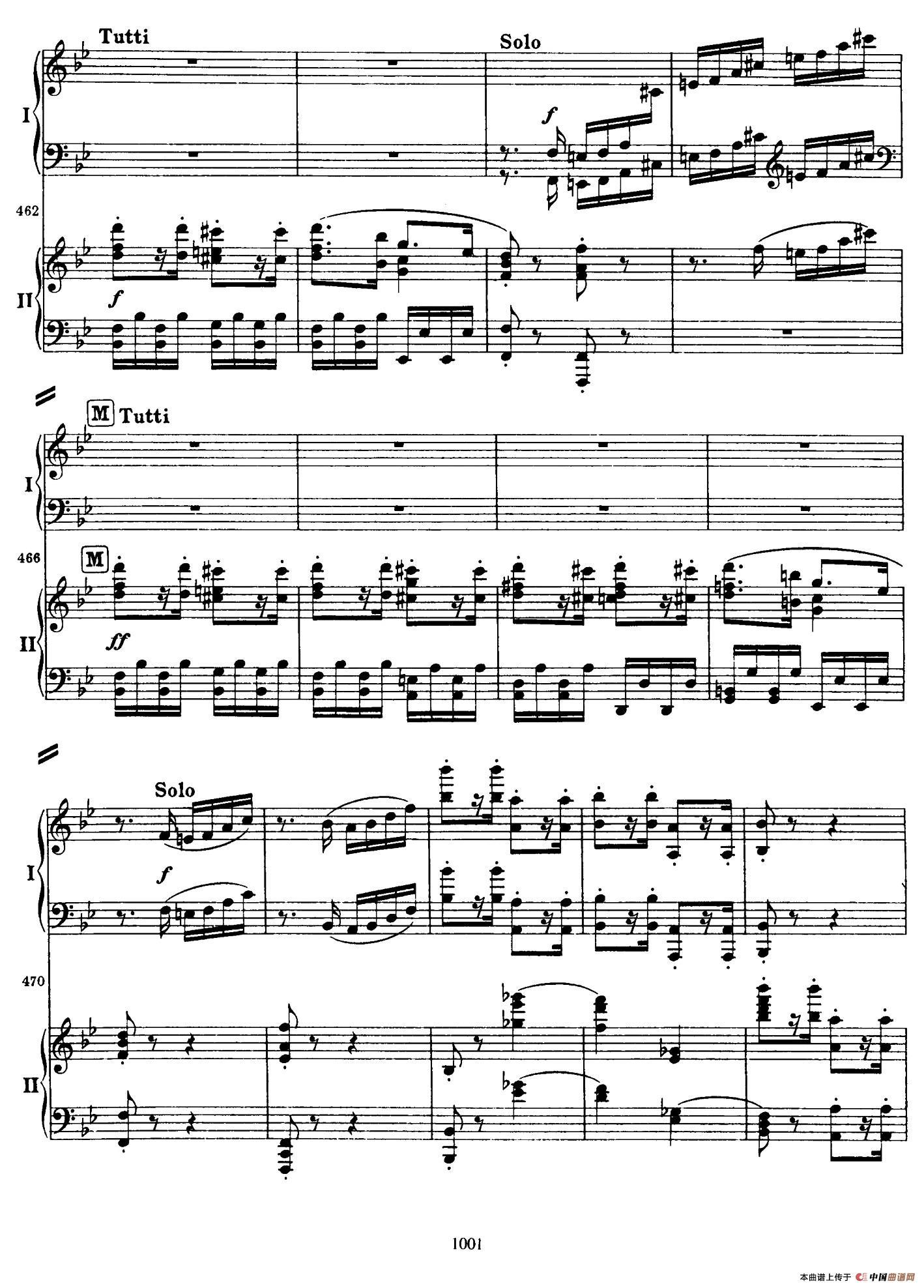 降B大调第二钢琴协奏曲(P91――104)(1)_原文件名:103.jpg
