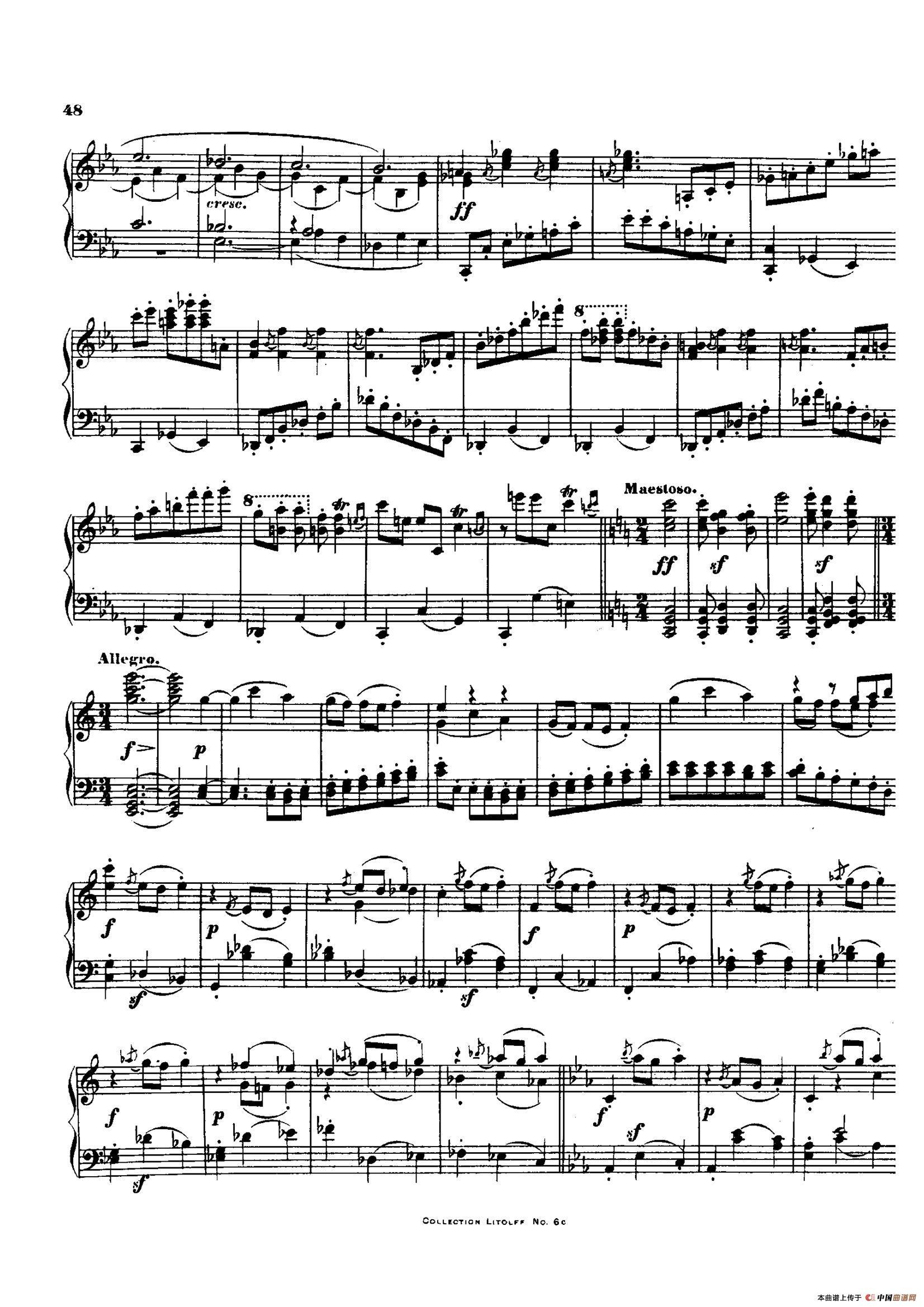 降E大调第十二弦乐四重奏(钢琴独奏版)(1)_原文件名:003.jpg