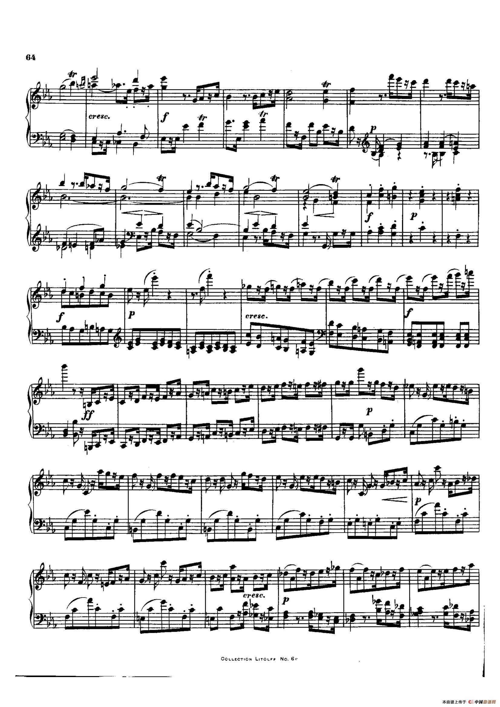 降E大调第十二弦乐四重奏(钢琴独奏版)(1)_原文件名:019.jpg