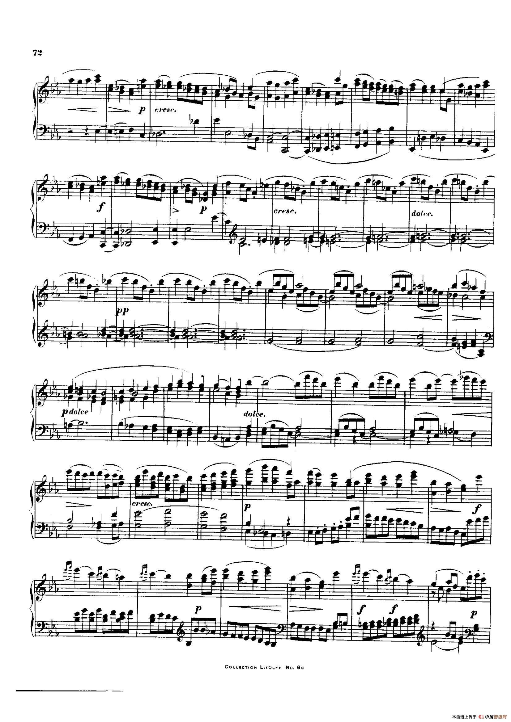 降E大调第十二弦乐四重奏(钢琴独奏版)(1)_原文件名:027.jpg
